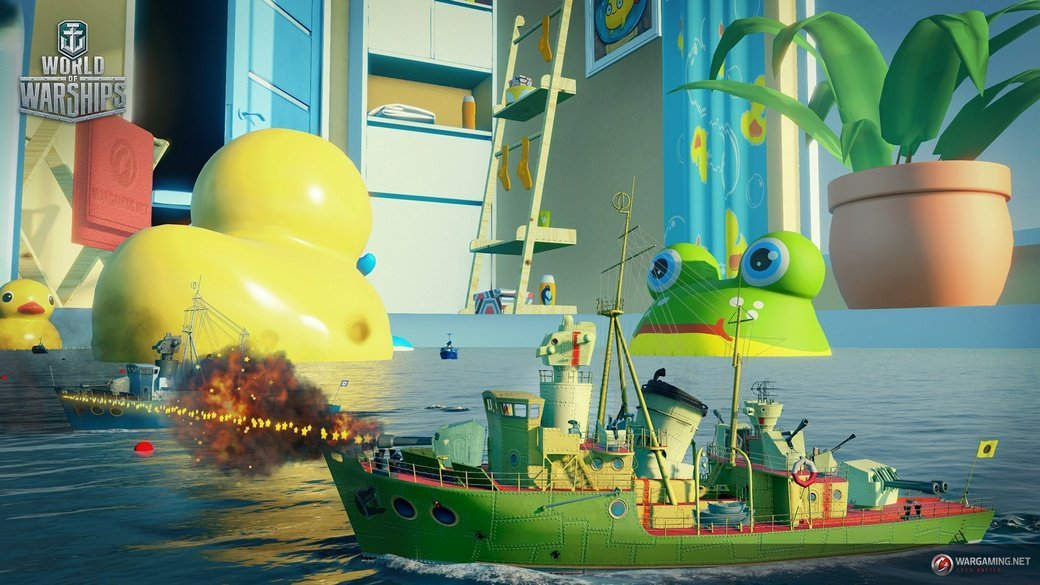 World of Warships столкнет корабли с резиновыми уточками - Изображение 1