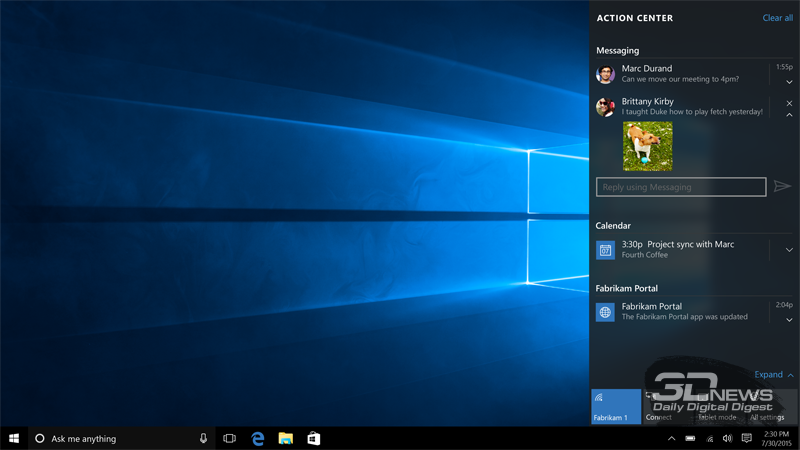 Android получит интеграцию с Windows 10 - Изображение 1