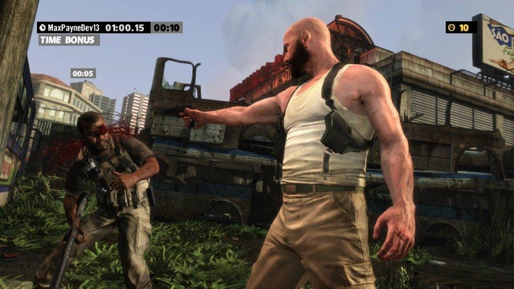 Скриншоты Max Payne 3: хэдшот бонус - Изображение 1