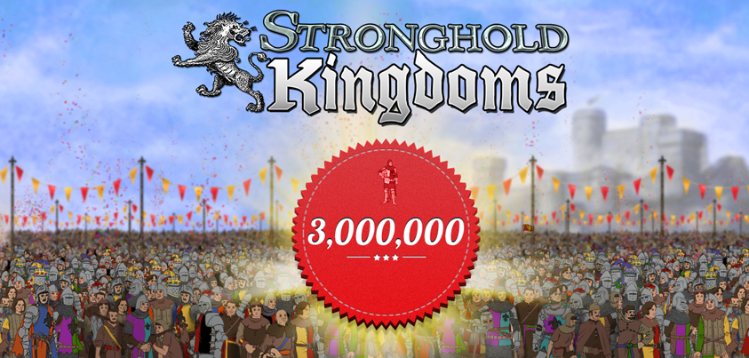 Stronghold Kingdoms привлекла 3 млн игроков. - Изображение 1