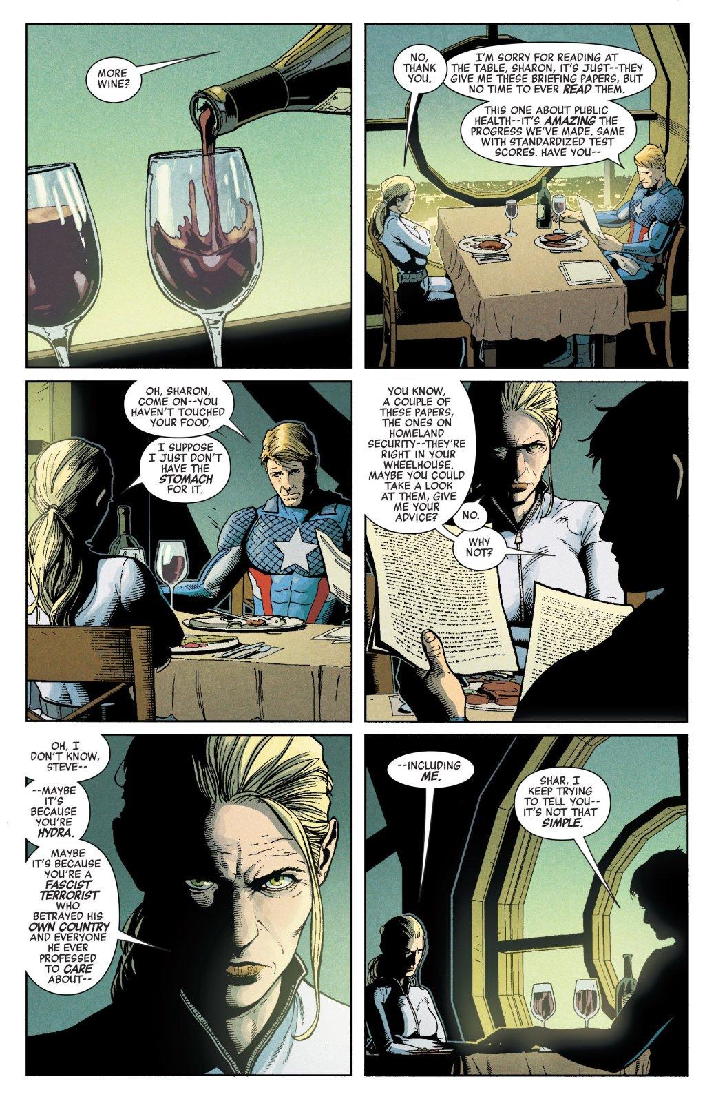 Пропаганда и концлагеря. Во что Гидра и Капитан Америка превратили США. - Изображение 19
