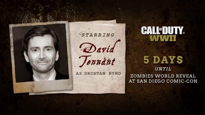 Всеть утек трейлер зомби-режима игры Call ofDuty: WWII