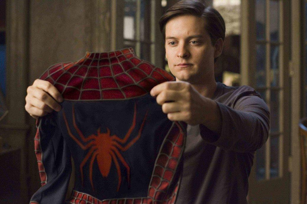 Человек паук 3 роли