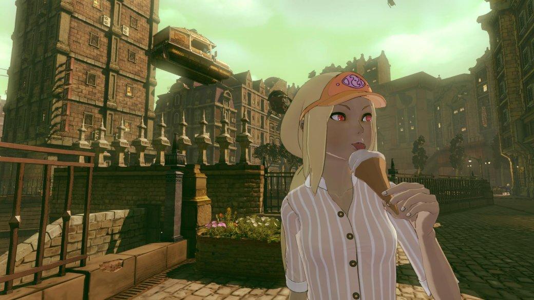 Новые скриншоты Gravity Rush 2 раскрыли умения героини - Изображение 1