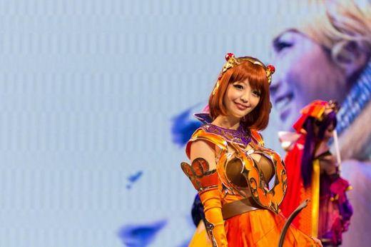 Девушки с Asia Game Show 2012 - Изображение 18