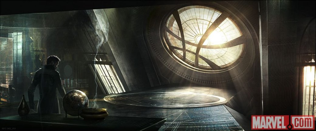 Marvel провела экскурсию по Святилищу Доктора Стрэнджа - Изображение 1