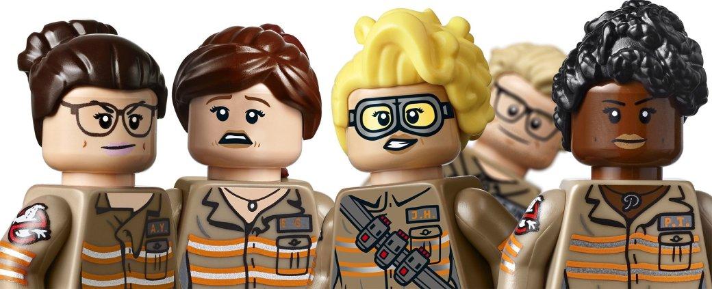 Lego по новым Ghostbusters ущемляет в правах Криса Хемсворта - Изображение 1