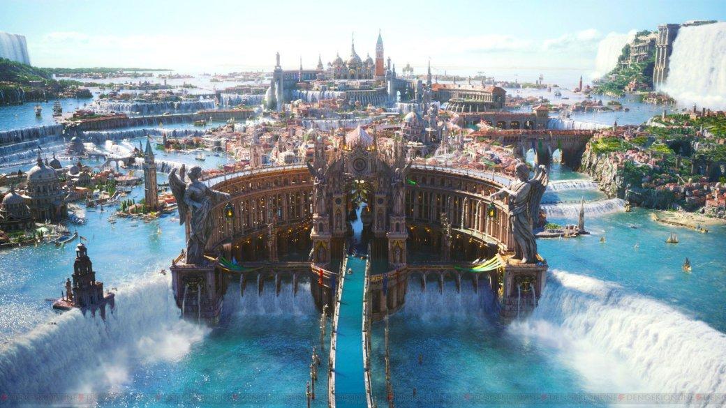 Final FantasyXV показали наPC