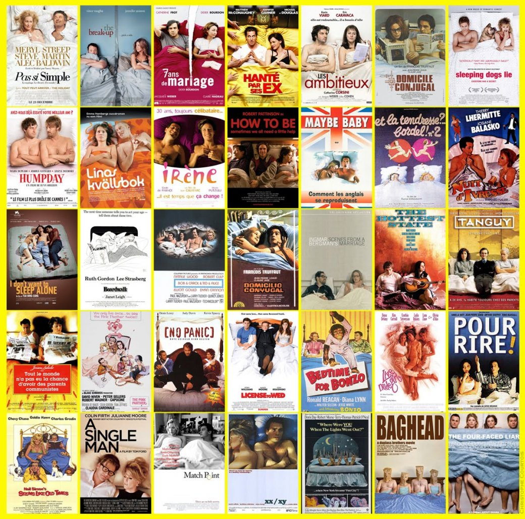 Утомившие киноштампы: Когда-то  постеры были искусством - Изображение 89