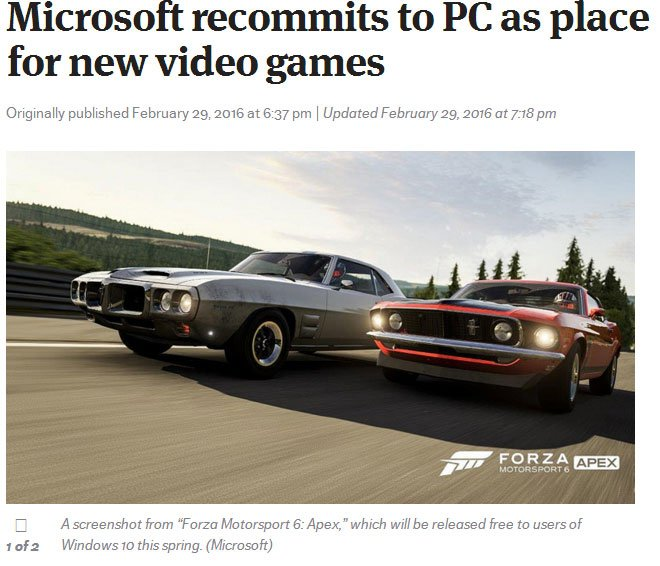Forza 6 выйдет на PC и будет условно-бесплатной - Изображение 1