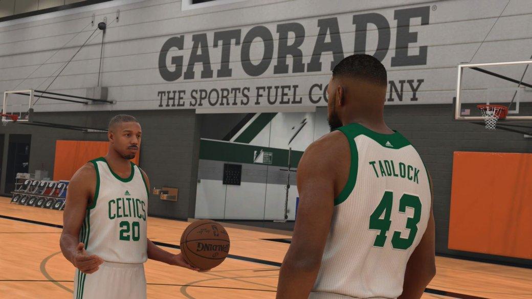 Звезда «Крида» Майкл Б. Джордан снялся в сюжетной кампании NBA 2K17 - Изображение 1