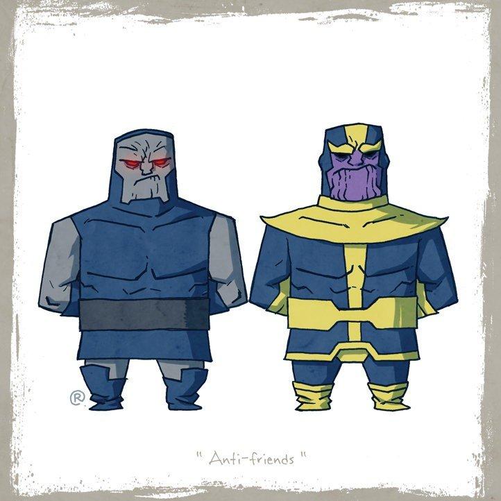 Как Marvel персонажей DC воровала (и наоборот). - Изображение 42