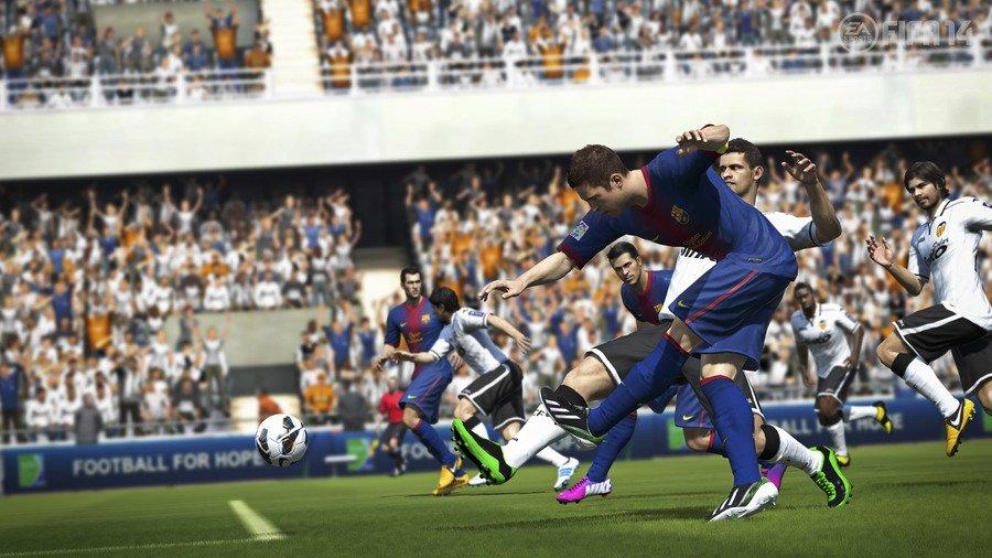 Tomb Raider уступила FIFA 14 первое место в британском чарте - Изображение 1