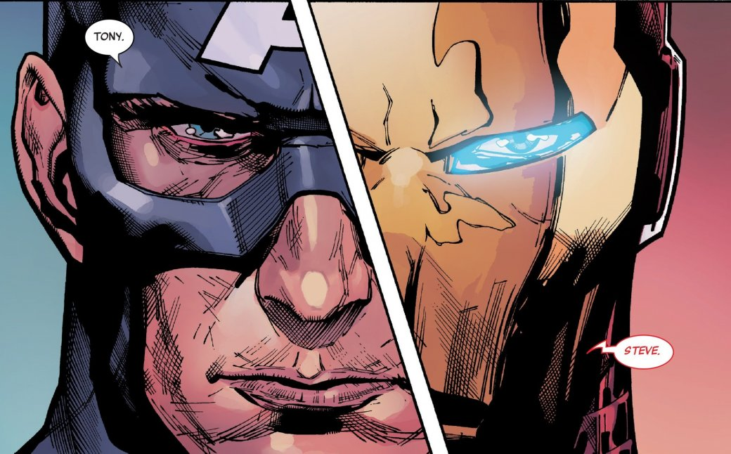 Secret Empire: противостоянию Стива Роджерса иТони Старка нет конца - Изображение 1