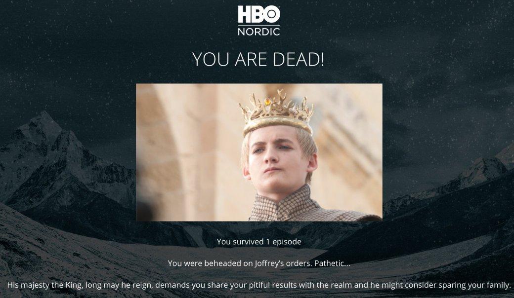Как вы умрете? Суперсложный тест по «Игре престолов»! - Изображение 1
