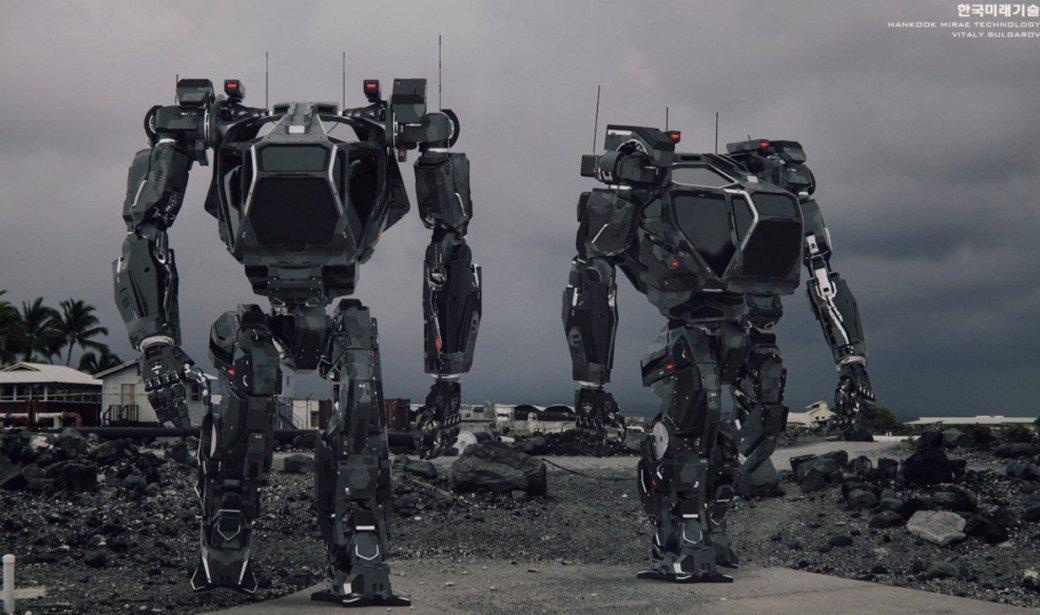 Дуэль большущих военных роботов Mk.III иKuratas состоится летом