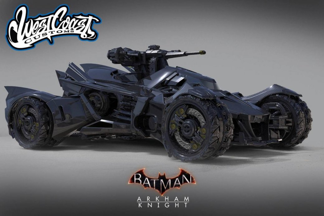 Бэтмобиль гонится за Инфинити Джокера в «Отряде самоубийц» - Изображение 5