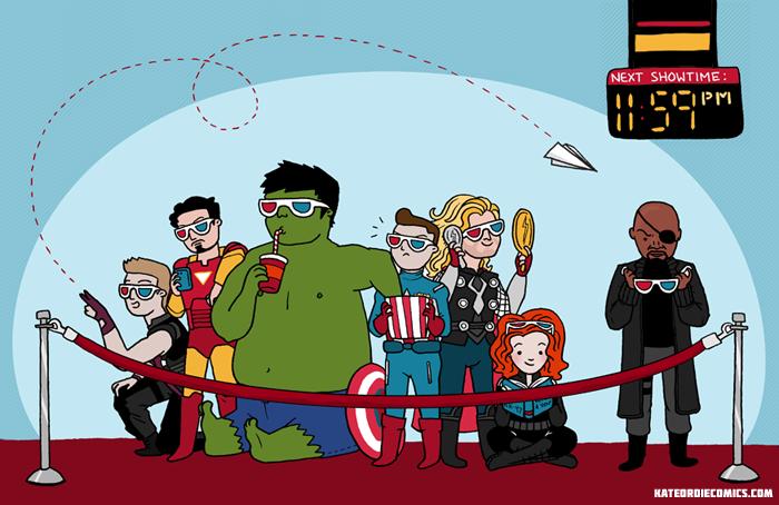 Галерея вариаций: Мстители-женщины, Мстители-дети... - Изображение 192