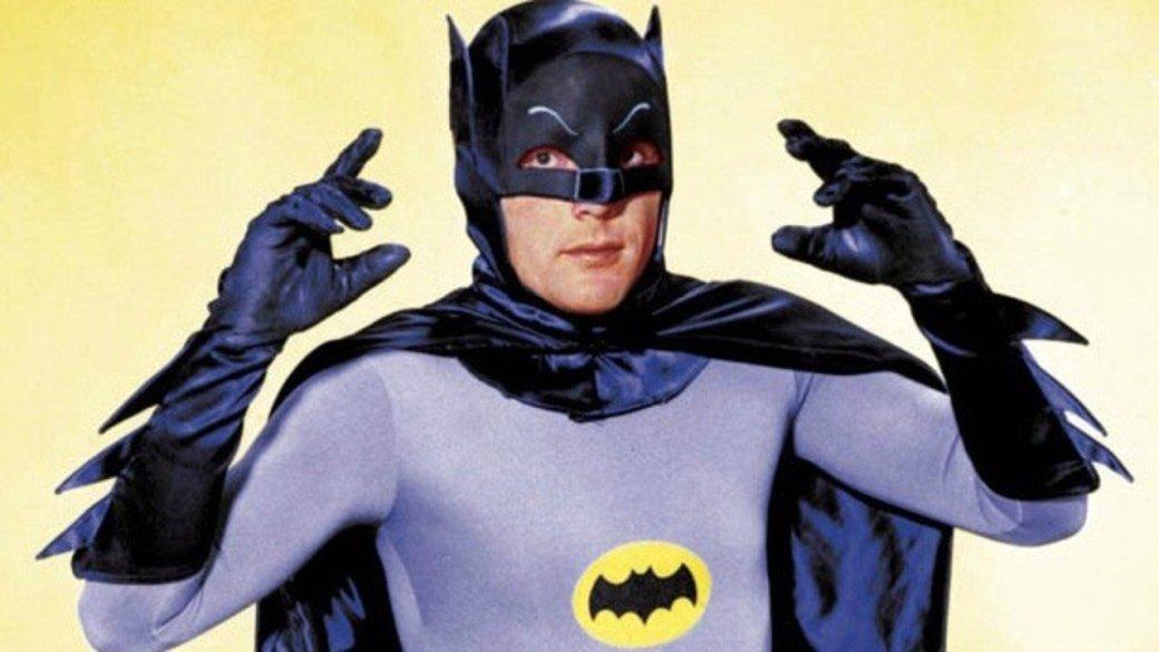 Исполнитель роли Бэтмена Адам Уэст скончался ввозрасте 88 лет