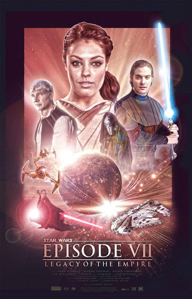 Фанатские постеры Star Wars: Episode VII - Изображение 26