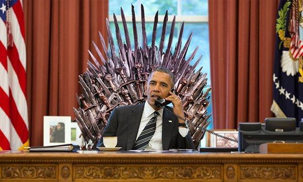 Обама уже посмотрел 6-й сезон «Игры престолов» - Изображение 1