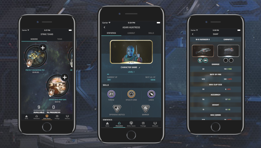 Mass Effect: Andromeda обзавелась мобильным приложением - Изображение 1