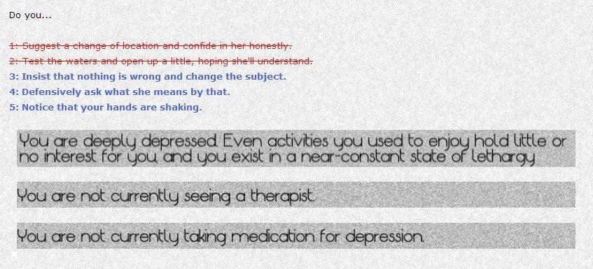 Автор Depression Quest пообещала новые игры каждые две недели  - Изображение 1