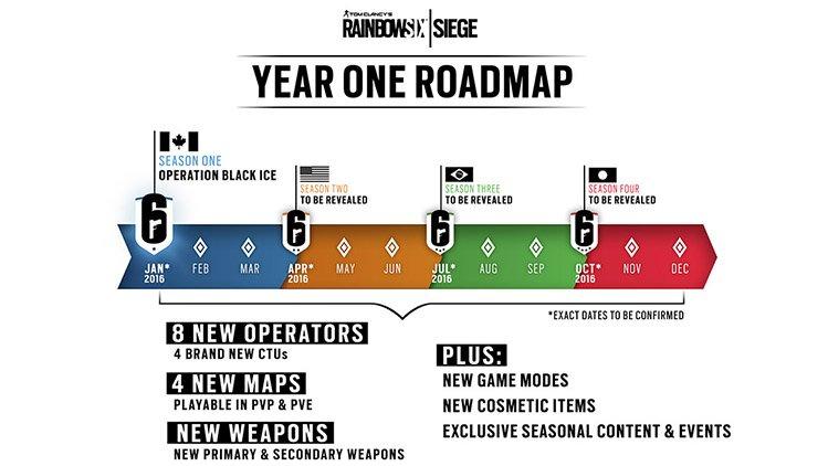 Ubisoft поделилась планами по развитию Rainbow Six: Siege на 2016 год - Изображение 1