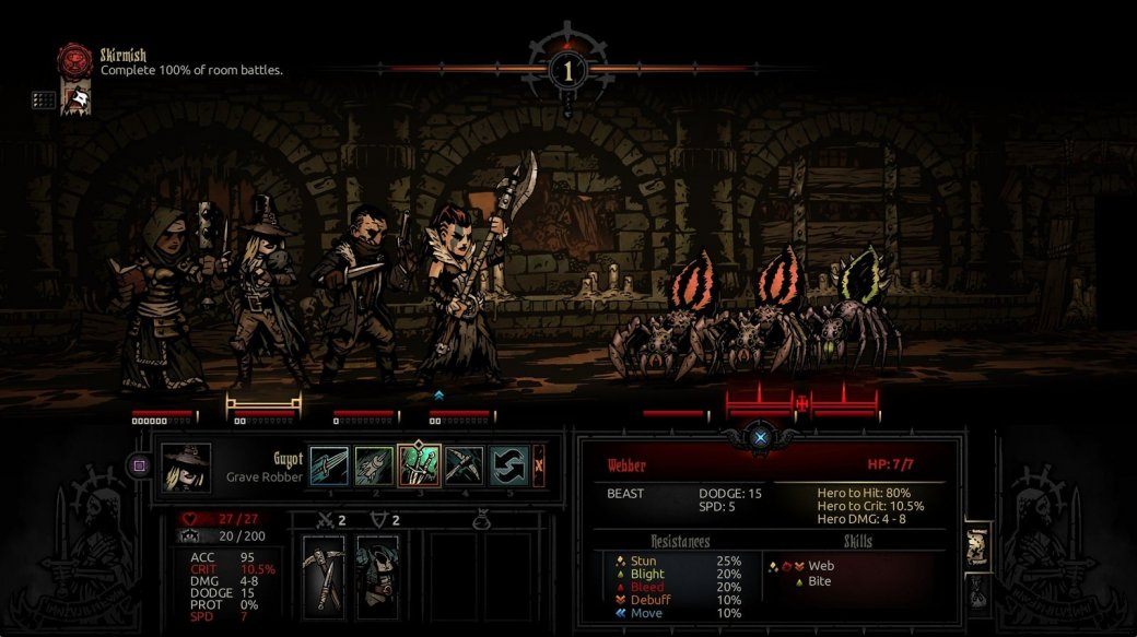 Герои Darkest Dungeon сойдут с ума на PS4 и PS Vita - Изображение 1