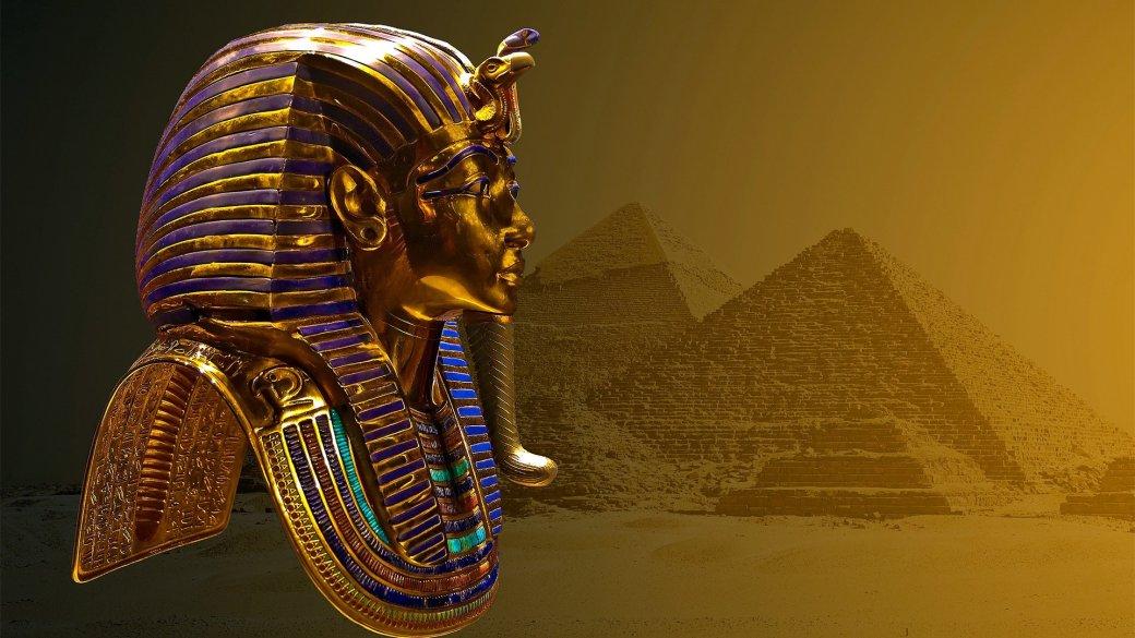 Во время чистки у маски Тутанхамона отвалилась борода. Чистильщик не дурак — приклеил ее назад - Изображение 1