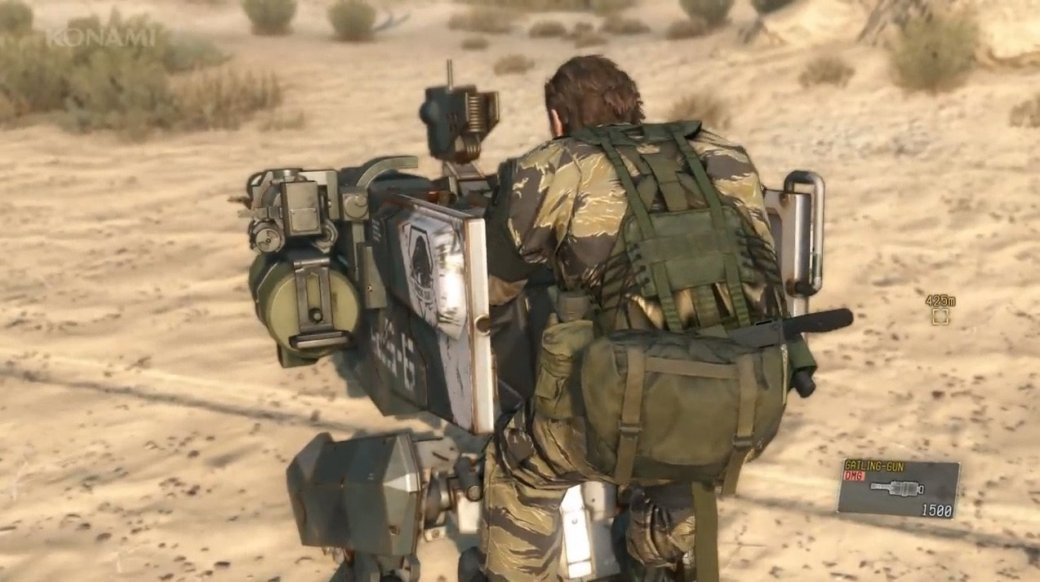 40 минут Metal Gear Solid 5: на закорках у робота под музыку 80-х - Изображение 3