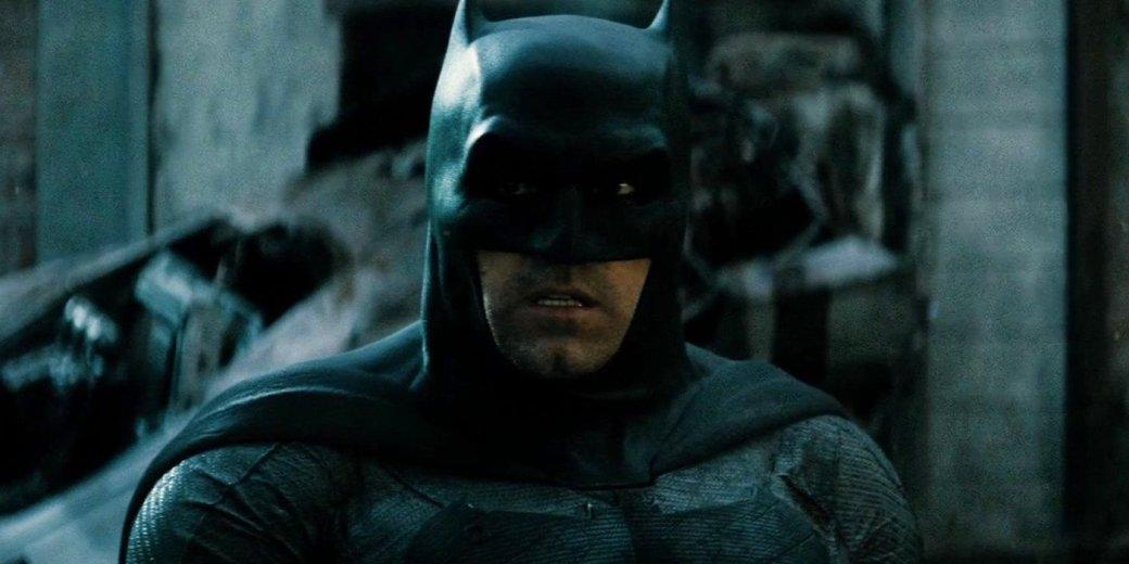 Слух: «Бэтмен» с Беном Аффлеком может выйти через полтора года - Изображение 1