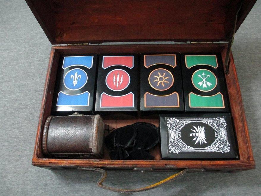 Девушка сделала своему парню набор для игры в гвинт из The Witcher 3 - Изображение 1