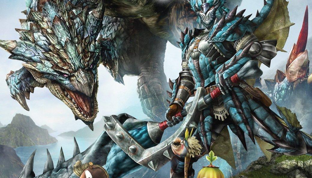 Танк обстреливает огромного краба в трейлере Monster Hunter 4G  - Изображение 1