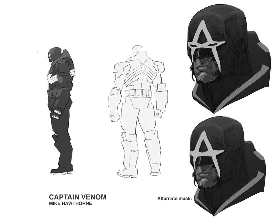 Капитан Америка + Веном = Капитан Веном, ионвыглядит очень круто. - Изображение 3