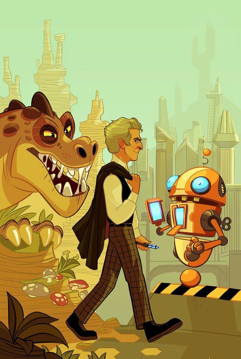Четыре потрясающих Доктора на обложках комиксов «Доктор Кто» - Изображение 5