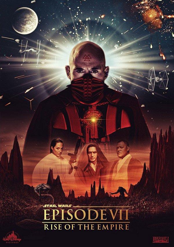 Фанатские постеры Star Wars: Episode VII - Изображение 24
