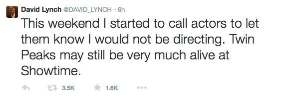 Дэвид Линч не будет снимать продолжение сериала «Твин Пикс» - Изображение 3