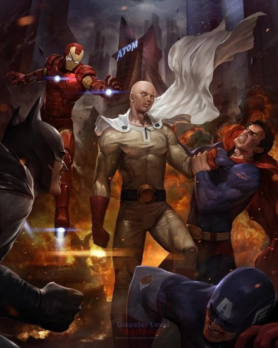 Ванпанчмен раздал люлей Бэтмену и Супермену - Изображение 1