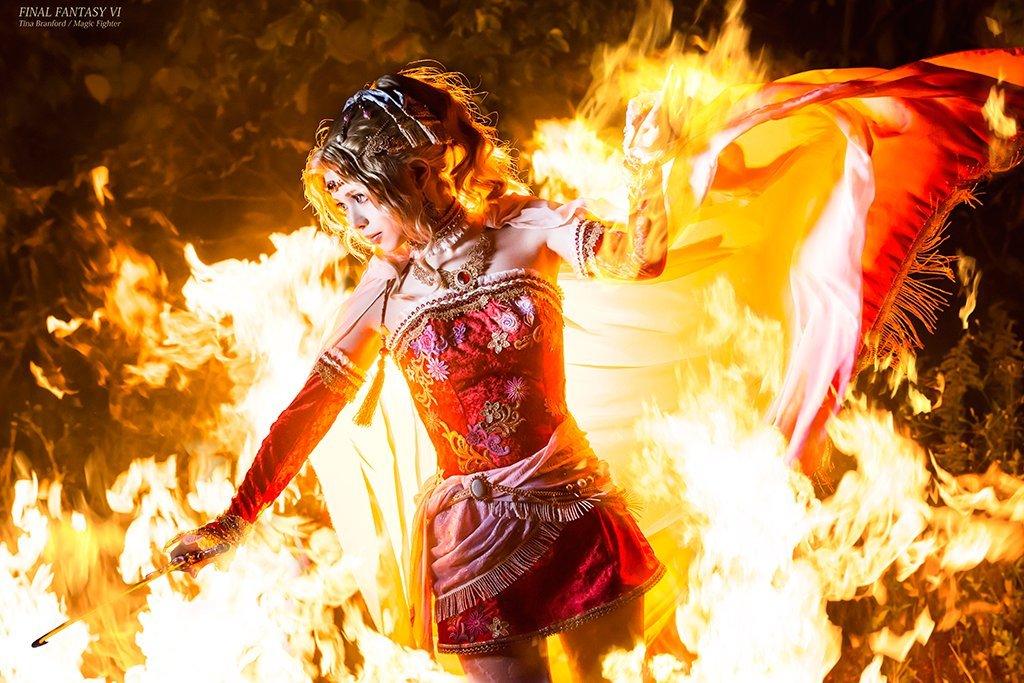 Качественный японский косплей героини Final Fantasy VI - Изображение 3