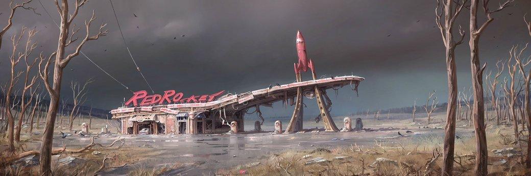 Женщина, собака и пулемет на борту в новом арте и скринах Fallout 4 - Изображение 5