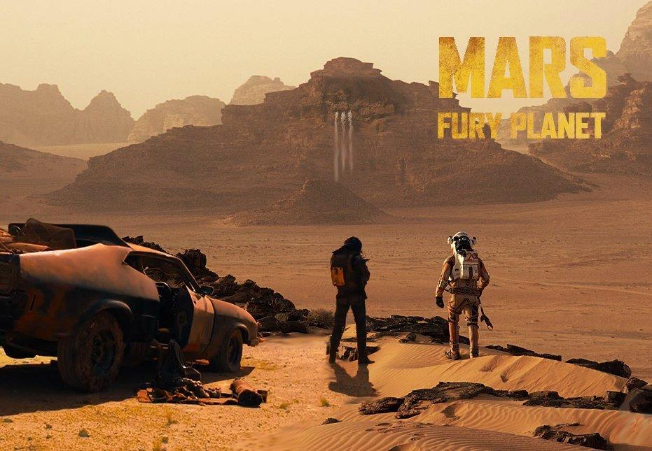 Первые кадры «Марсианина» Ридли Скотта уже порождают мемы - Изображение 11