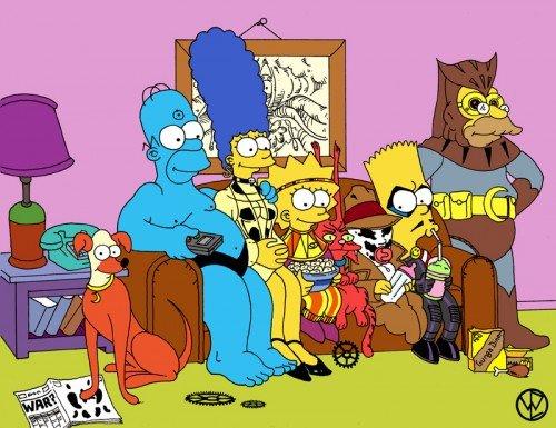 C днем рождения, Симпсоны - Изображение 9