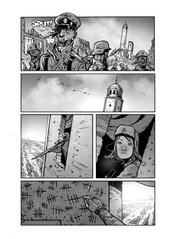 Автор комикса о зомби в Сталинграде: «Россия и США невероятно близки» - Изображение 4