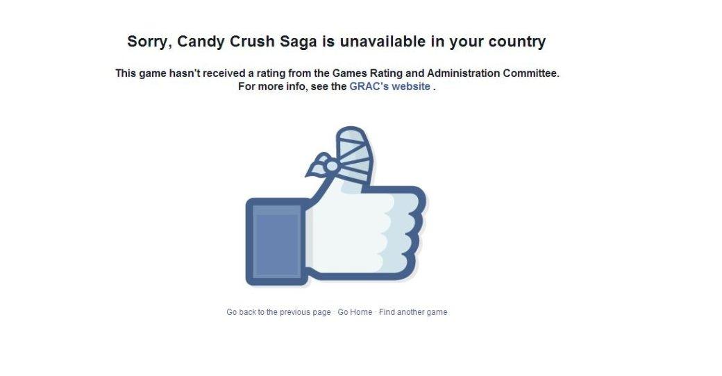 В Южной Корее заблокировали все игры в Facebook - Изображение 1