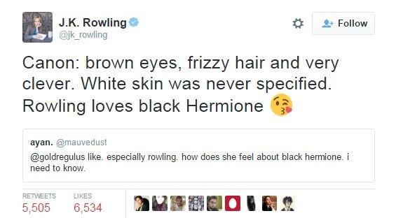 Гермиона станет чернокожей в продолжении «Гарри Поттера» [обновлено] - Изображение 4