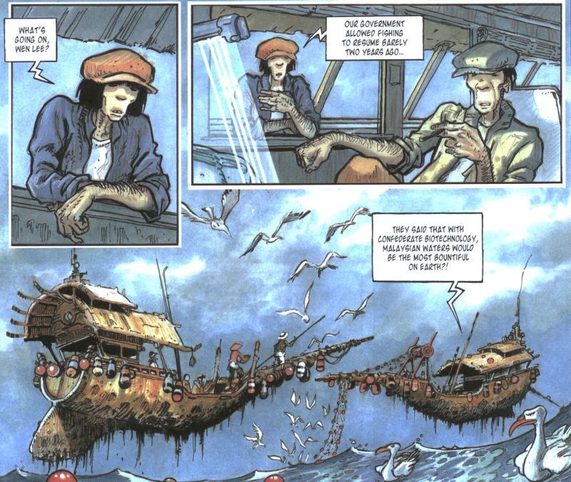 Комиксы: Orbital - Изображение 6