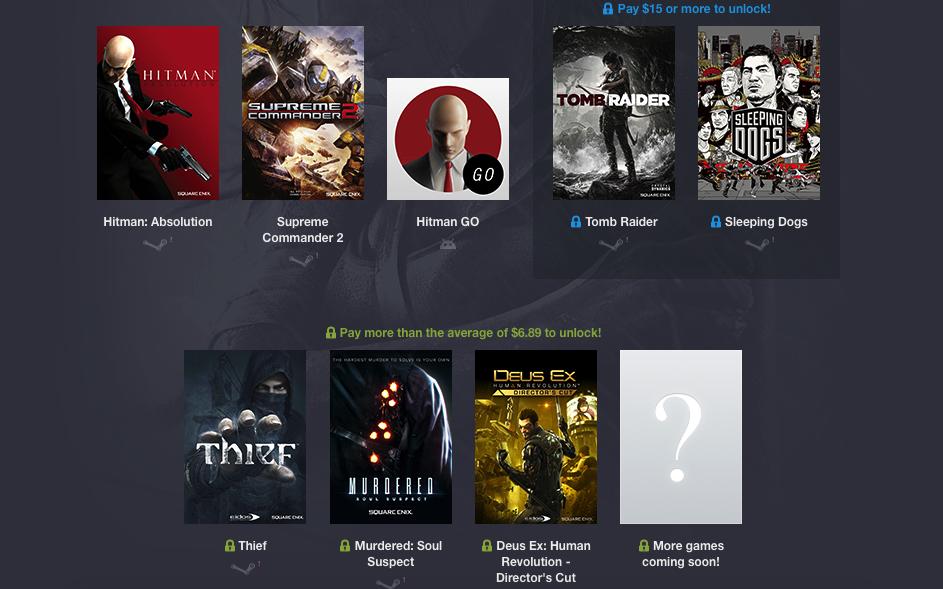 Humble Square Enix Bundle 2: сэкономь 2 тысячи рублей на покупке 8 игр - Изображение 1