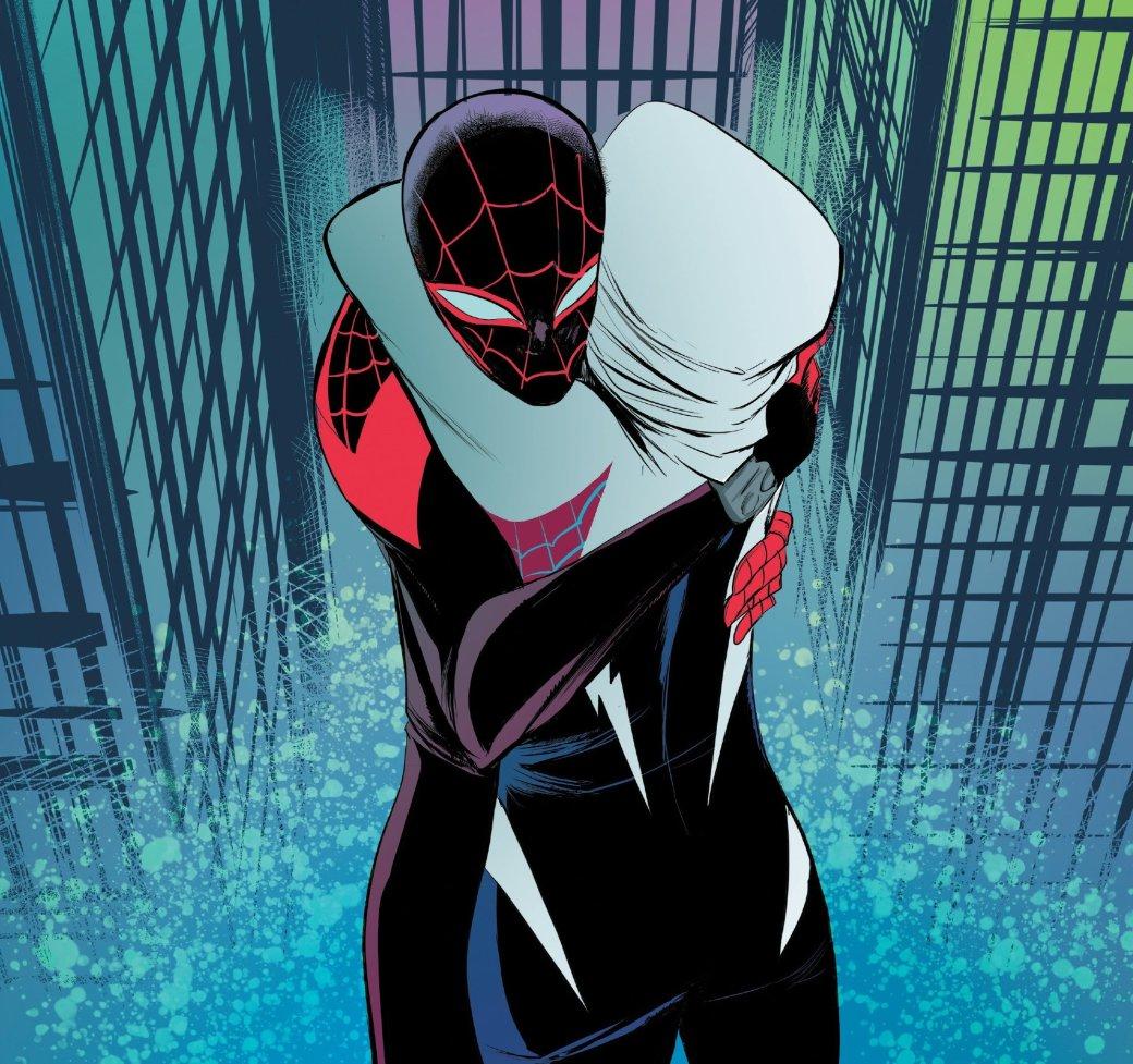 Финал кроссовера Человека-паука Майлза Моралеса и Гвен-паук - Изображение 1