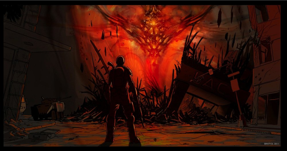 Doom 4 мог выглядеть как Gears of War - Изображение 7